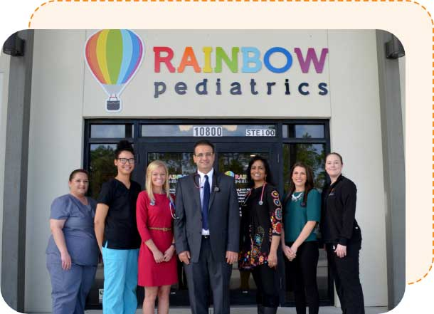 Rainbow Pediatrics staff photo Panama City Florida